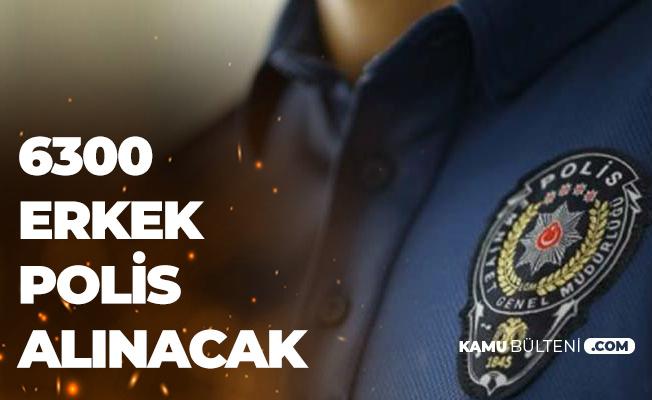 KPSS 60-65 Puanla 6300 Erkek Polis Alımı