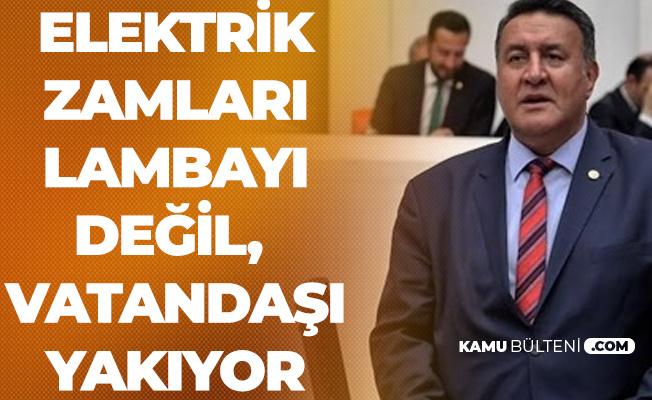 """Ömer Fethi Gürer'den TBMM'de 'Zam, Taşerona Kadro, EYT' Çıkışı: Vatandaş, """"Yandım Anam"""" Diyor"""