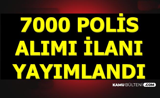 Polis Akademisi 26. Dönem POMEM 7000 Polis Alımı İlanı 2019
