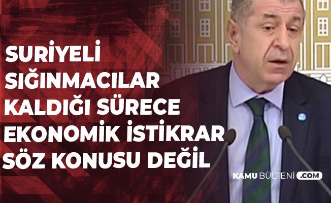 Prof. Dr. Ümit Özdağ: Suriyeliler Türkiye'de Kaldığı Sürece Ekonomik İstikrar Mümkün Değil