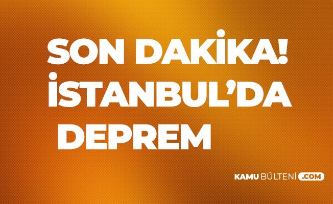 Son Dakika! Yalova'da Deprem Meydana Geldi! Deprem İstanbul'dan da Hissedildi