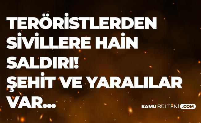 Son Dakika: Mardin'de Kahpe Saldırı! Şehit ve Yaralılar Var