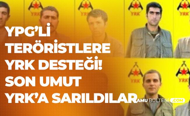 Terör Örgütü YPG'nin Umudu YRK Oldu! YRK'yi İsteyen YPG'lilere Destek Sözü