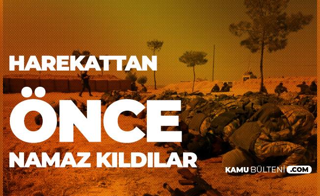 TSK'nın Desteklediği Suriye Milli Ordusu Barış Pınarı Harekatı Öncesi Namaz Kıldı!