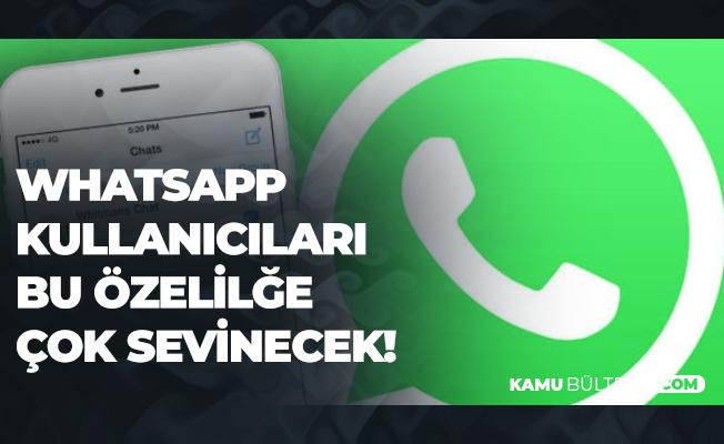 Whatsapp Kullanıcılarını Sevindirecek Yeni Uygulama