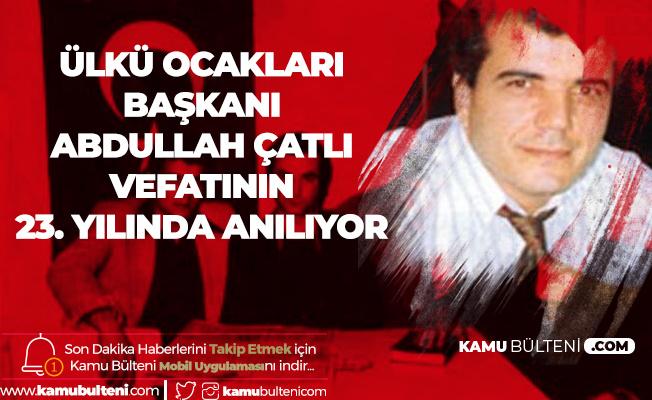1977 Ankara Ülkü Ocakları Başkanı Abdullah Çatlı Vefatının 23. Yılında Anılıyor