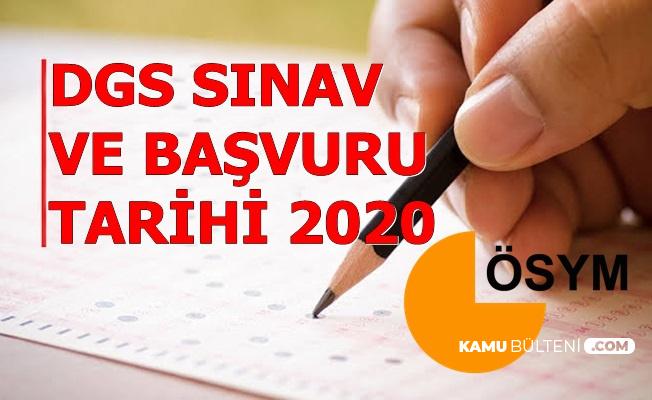 2020 Dikey Geçiş Sınavı (DGS) Başvuru ve Sınav Tarihi Açıklandı