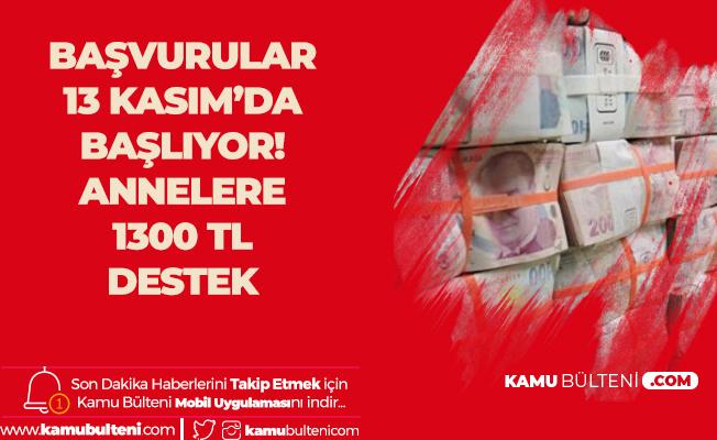 3 Bin 700 Kişiye 1300 Lira Çocuk Desteği Verilecek