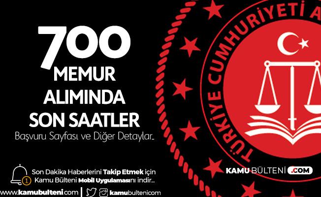 Adalet Bakanlığı 700 İcra Müdür ve Müdür Yardımcısı Alımı için Başvurular 23.59'da Sona Erecek
