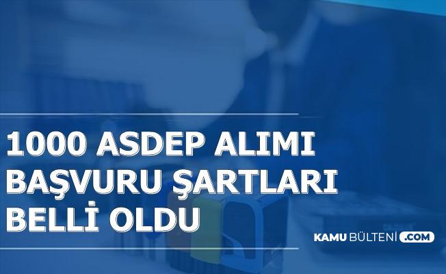 ASDEP Personeli Alımı Başvuru Şartları Açıklandı (ASDEP Nedir?)
