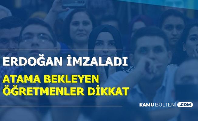 Atama Bekleyen Öğretmenler Dikkat: KPSS Düzenlemesi Yapıldı