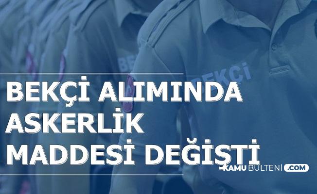 Bekçi Alımında Askerlik Şartı Kalktı mı? Polis Akademisi'nden Flaş Düzenleme