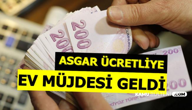 Berat Albayrak'tan Asgari Ücretliye Konut Kredisi Müjdesi