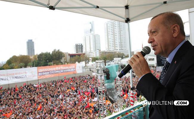 """Cumhurbaşkanı Erdoğan'dan """"Beştepeye Giden CHP'li"""" İddiasına Yanıt"""