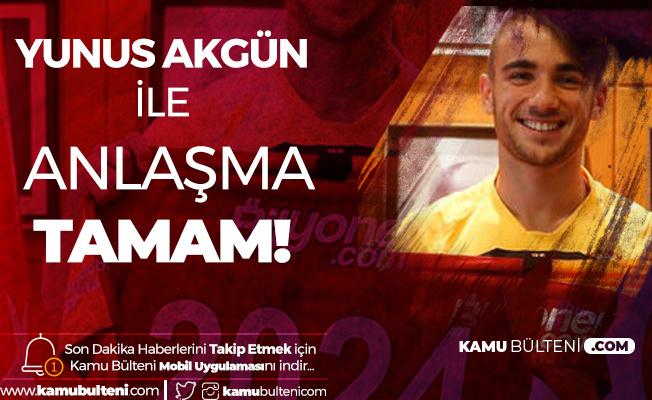 Galatasaray Yunus Akgün'ün Sözleşmesini 2023-2024 Sezonuna Kadar Uzattı