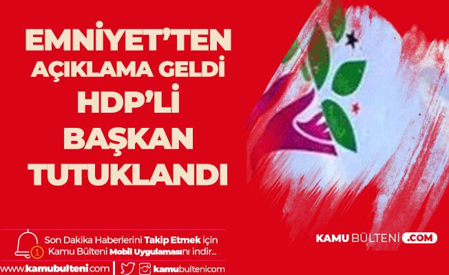 HDP'li Van İpek Yolu Belediye Başkanı Tutuklandı