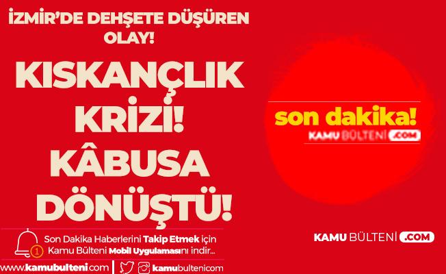 İzmir'de Kıskançlık Krizi! Eşinin Güzellik Merkezine Sürekli Gelip Bakım Yaptıran Adamı Öldürdü!