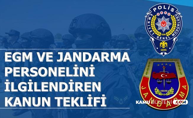 Jandarma ve EGM Personellerini İlgilendiren Düzenleme TBMM'de