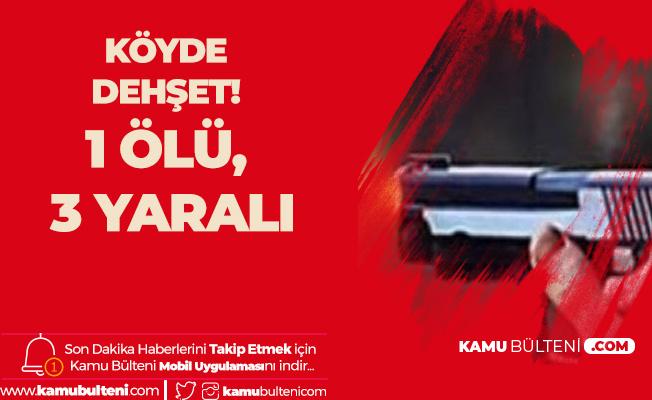 Kastamonu'da Köydeki Husumet Kanlı Bitti! 3 Ölü, 3 Yaralı