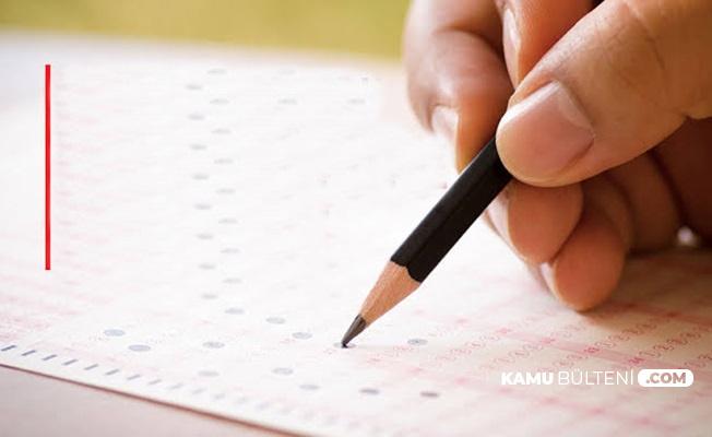 Kaymakamlık Sınavı Soru ve Cevapları (Sınav Sonuç Açıklama Tarihi)