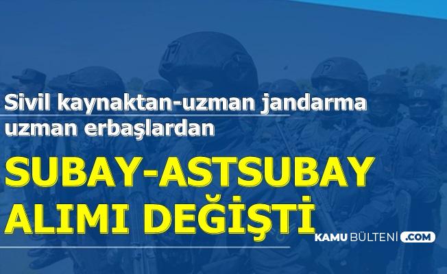 KPSS'siz ve KPSS ile Jandarma Alımında Değişiklik (Uzman Erbaş-Uzman Jandarma)