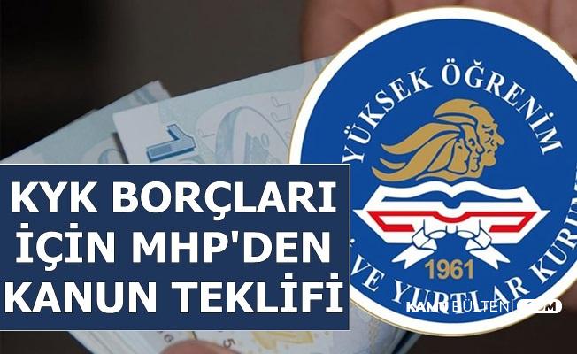 KYK Kredi Borçları İçin MHP'den Kanun Teklifi Geldi
