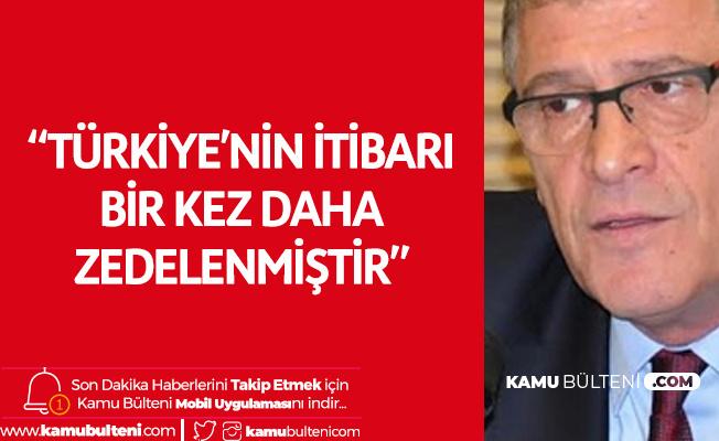 Müsavat Dervişoğlu: Türkiye'nin İtibarı Bir Kez Daha Zedelenmiştir