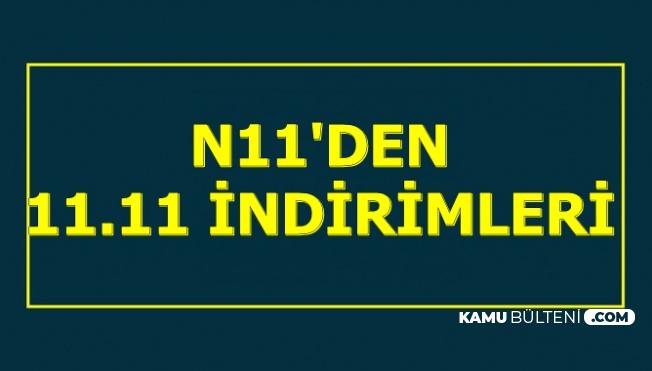 N11'de 11.11 İndirimleri