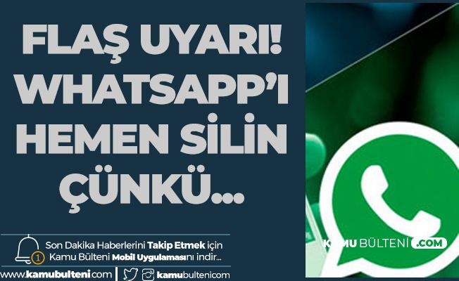 Pavel Durov: Whatsapp'ı Hemen Silin Çünkü..