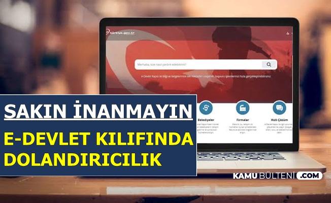 Aman Dikkat: Bu Sitelere Kart Bilgilerini Verenler Yandı-E Devlet Deyip..