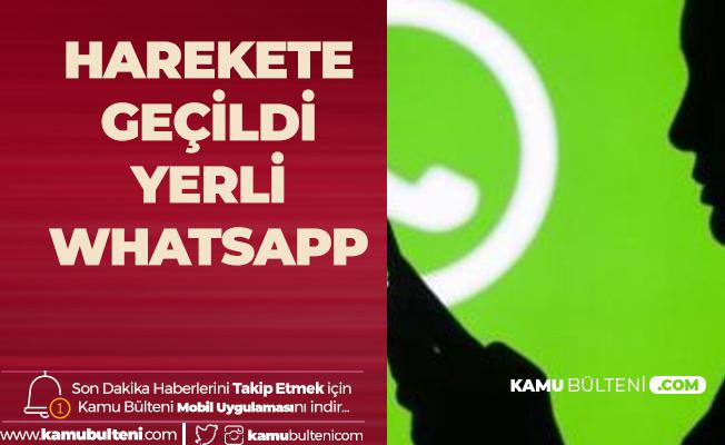 Türk Firmaları Harekete Geçiyor! Yerli Whatsapp