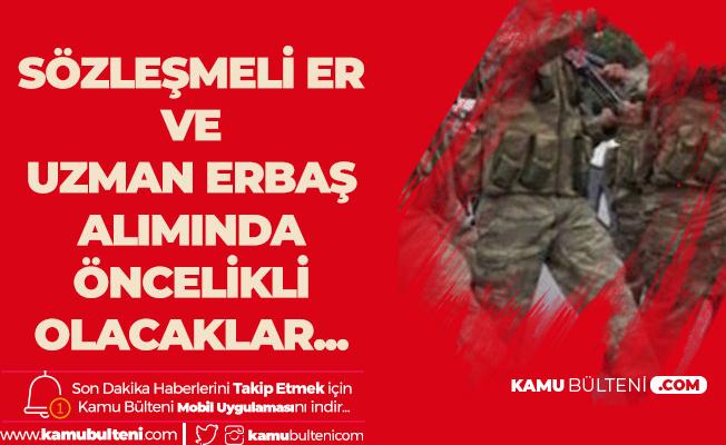 Yeni Dönem Başlamıştı! MSB Jandarma Uzman Erbaş ve Sözleşmeli Er Alımlarında Öncelikli Olacaklar!