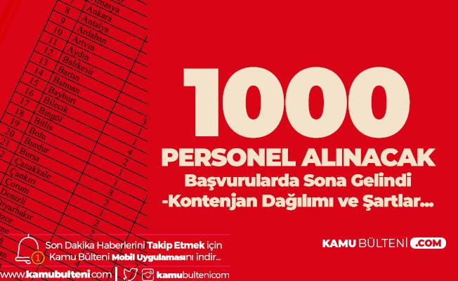 1000 ASDEP Personeli Alımı için Son Saatlere Girildi! İşte Kontenjan Dağılımı ve Şartlar