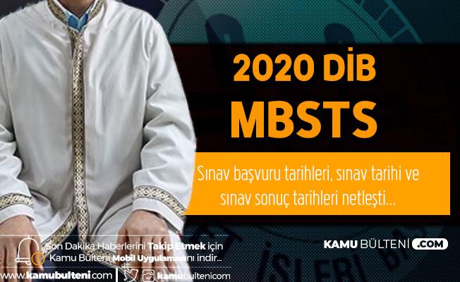 2020 DİB MBSTS için Başvurular Şubat Ayında Alınacak
