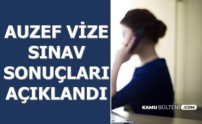 AUZEF Vize Sınav Sonuçları Açıklandı AOS Girişi (İstanbul Üniversitesi Sınav Sonuçları Auzef Aksis Giriş)