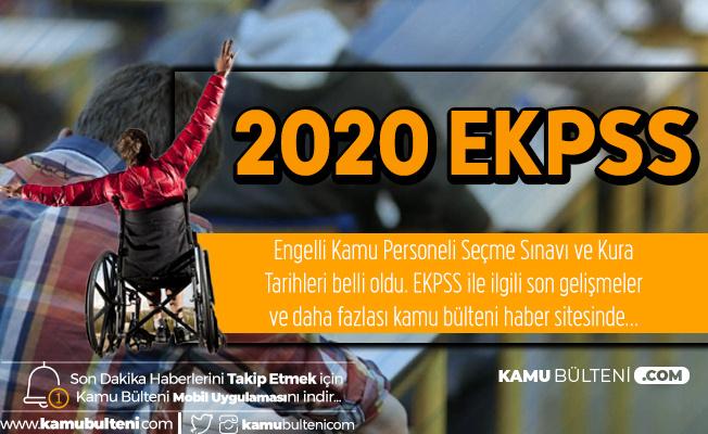 Binlerce Aday Bekliyor! 2020 EKPSS için Başvuru Tarihleri ve Sınav Tarihi