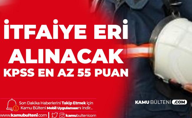 Bükardı Belediyesi'ne KPSS En az 55 Puanla İtfaiye Eri Alımı Yapılacak