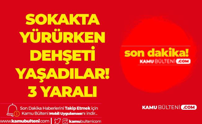 İstanbul Şişli'de Dehşet! Bina Çatısı Çöktü , Yaralılar Var
