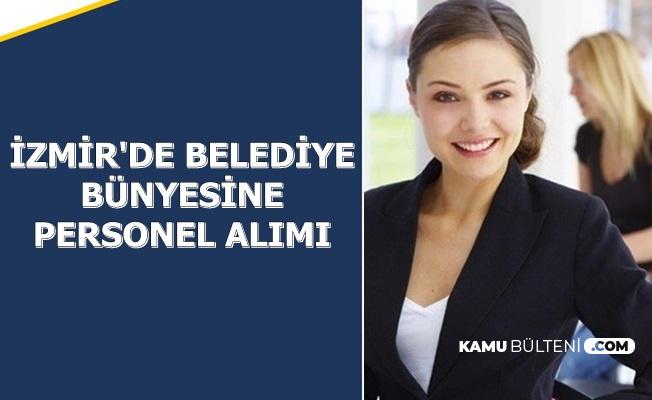 İzmir'de Belediyeler Bünyesine 136 Güvenlik Görevlisi-Büro Memuru ve Personel Alımı