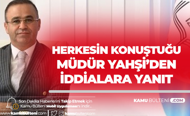 İzmir İl Milli Eğitim Müdürü Yahşi'den 'Tatil' İddialarına Yanıt: Yasal Haklarımı Sonuna Kadar Kullanacağım