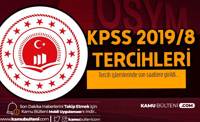 KPSS 2019/8 ile Çevre ve Şehircilik Bakanlığı'na Sözleşmeli Personel Alımı Tercih Süreci Sona Eriyor