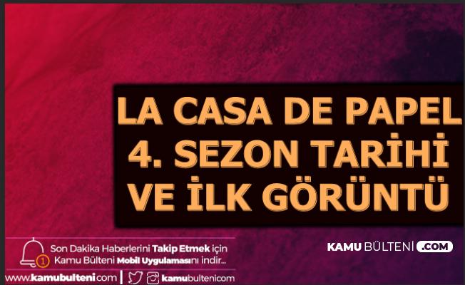 La Casa De Papel 4. Sezon 1. Bölüm Tarihi Açıklandı-İşte Yeni Sezondan İlk Görüntüler