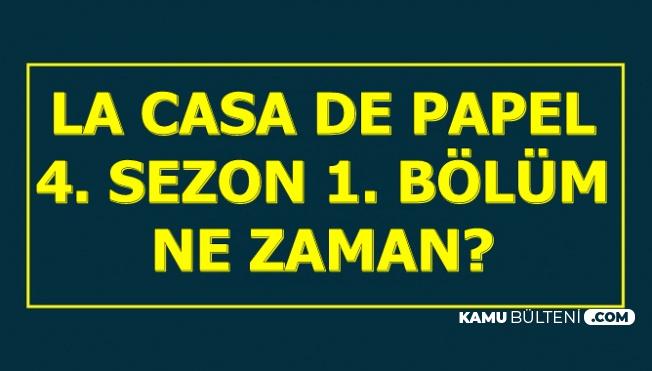 La Casa De Papel 4. Sezon Ne Zaman? 4. Sezon 1. Bölüm Fragmanı Yayımlandı mı?