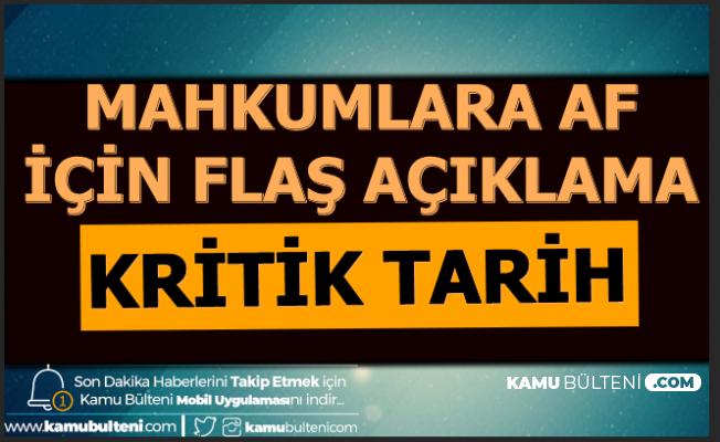 Mahkumlara Af Süleyman Soylu'ya Soruldu: Açıklama İçin Tarih Geldi 2020