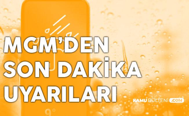 Meteoroloji Saat Verdi ve Uyardı: Kuvvetli Kar ve Yağmur (Ankara, İstanbul, Adana, Mersin Antalya Hava Durumu)
