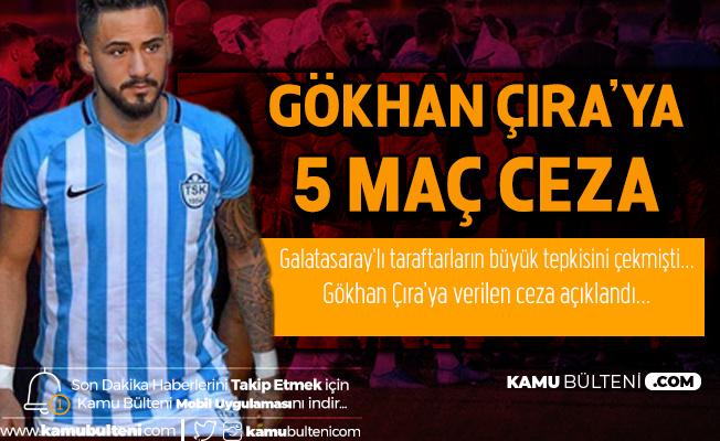 PDFK'nın Kararı Belli Oldu! Tuzlaspor'lu Gökçan Çıra'ya 5 Maç Ceza Verilecek