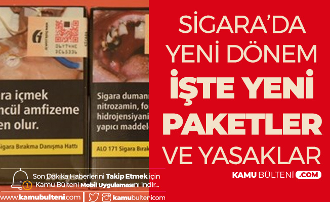 Sigara Düzenlemesinde Yeni Dönem! Yeni Sigara Paketlerindeki Mesajlar ve Yeni Sigara Paket Tipi