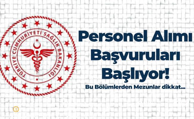 T.C. Sağlık Bakanlığı'na KPSS A Memur Alımı için Başvurular Başlıyor