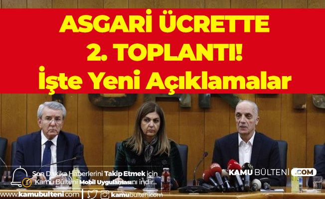 Türk İş'ten Asgari Ücret Konusunda Yeni Açıklama : Teklifler Var Ama Asgari Ücrette 2 Bin 578 TL'nin Altında Pazarlık Yok!