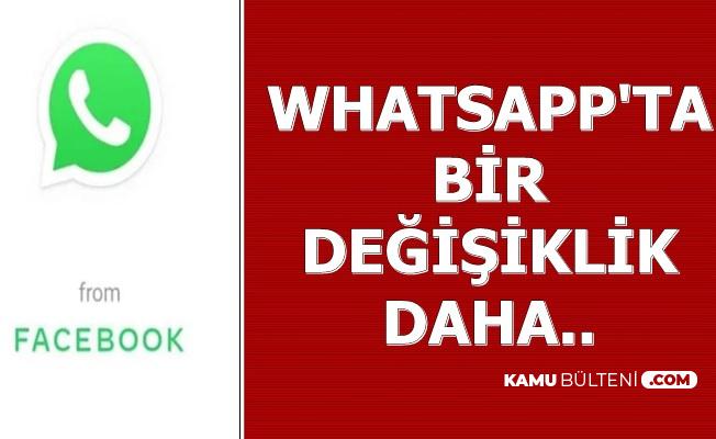 WhatsApp'ta Bir Değişiklik Daha (From Facebook Ne Demek?)